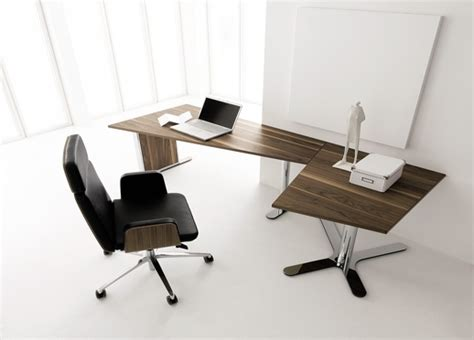 walnut office furniture designs with altitude settings