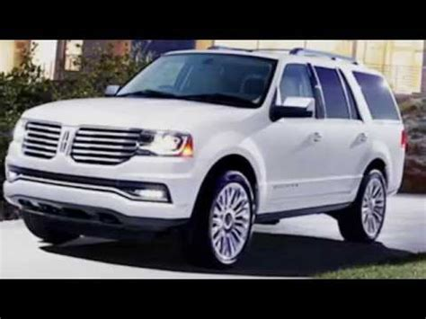2017 lincoln navigator concept redesign exterior and