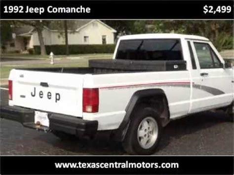 junked 1992 jeep comanche 1992 jeep comanche used cars austin tx youtube