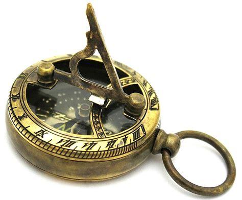 the brass compass brass sundial compass pocket sundial compass ebay