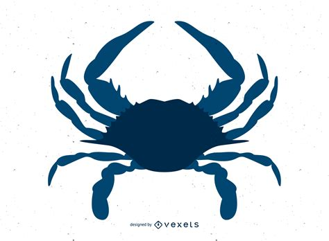 blue crab vector