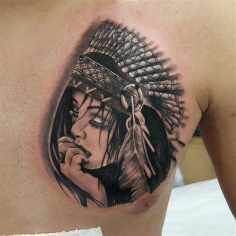 tattoo for indian girl native indian girl tattoo best tattoo ideas gallery