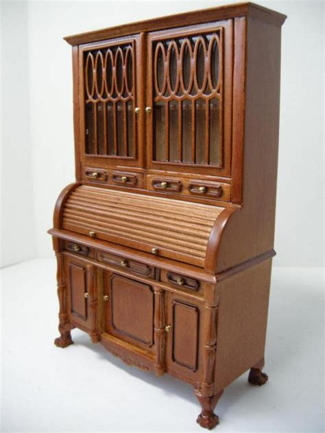 cabinet maker renowned for his chairs dollhouse famous maker furniture 6370 roll top cabinet ebay