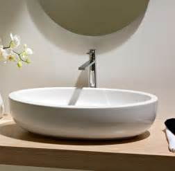 counter bathroom sinks beautiful oval above counter vessel bathroom sink by
