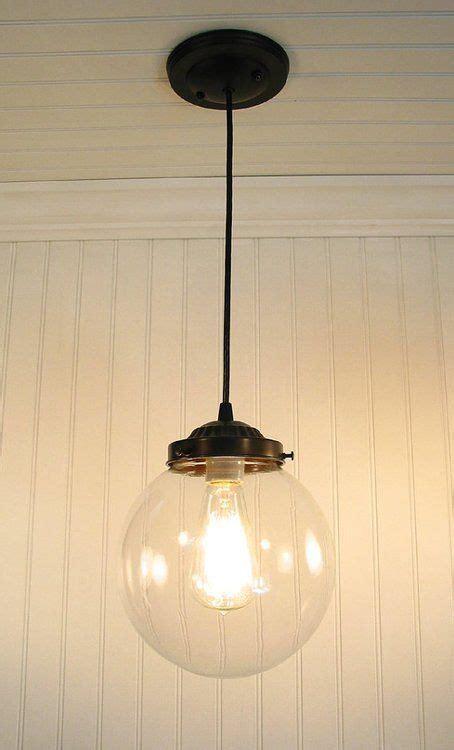 large clear glass pendant light 17 best ideas about modern pendant light on