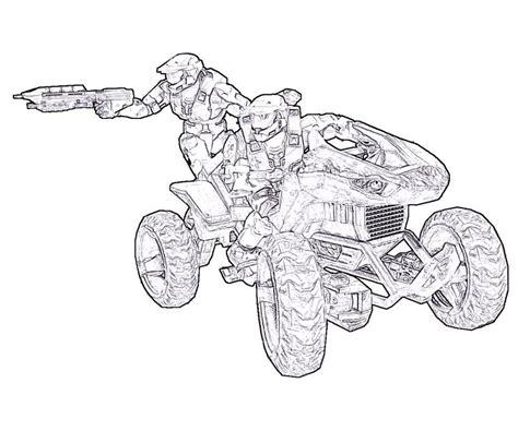 Halo 4 Coloring Pages by Halo 4 Yumiko Fujiwara