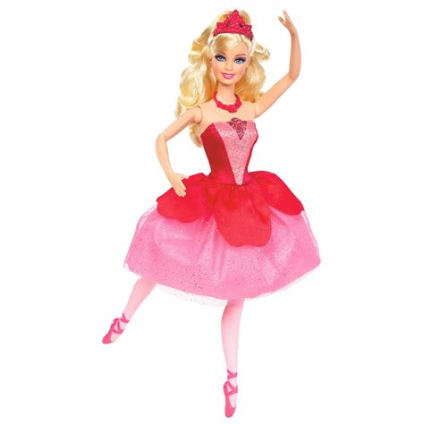 barbie red barbie in the pink shoes images kristyn s ballerina doll