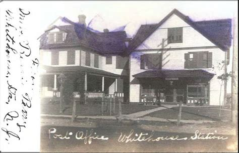 Annandale Post Office by Annandale New Jersey History