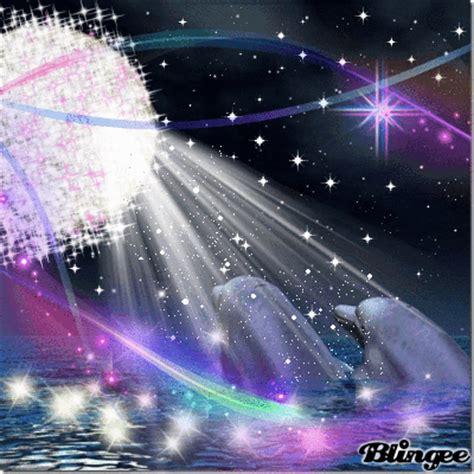 imagenes de amor animadas de delfines delfines a la luz de la luna picture 118694955 blingee com