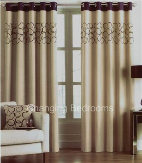 aubergine curtains 90 x 90 changingbedrooms com halo aubergine beige fully lined 90
