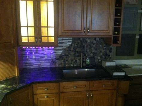 Home Bar Solutions Wine Rack Rgb Led Lighting Home Bar Other Metro By