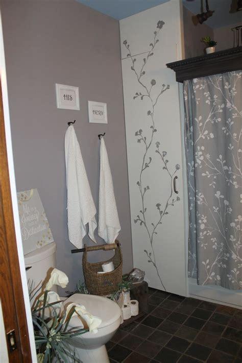 bathroom towel color schemes master bathroom with gray and white color scheme bath