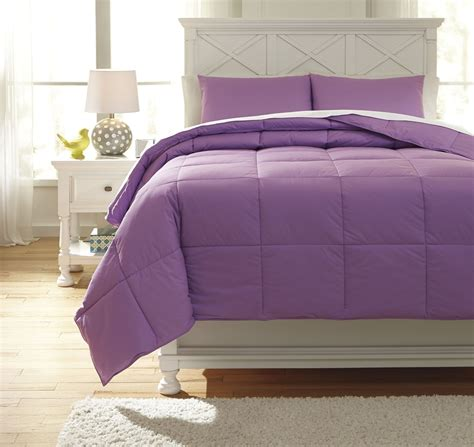 lavender twin bedding plainfield lavender twin comforter set from ashley