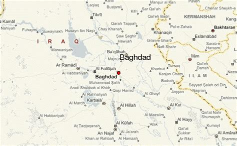 map of iraq and surrounding area baghdad location guide