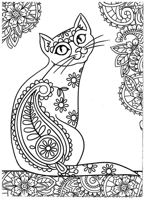 coloring books for adults cats 627 best images about colouring cats dogs