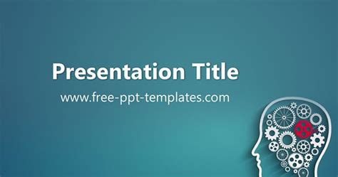 Psychology Powerpoint Template Psychology Presentation Template