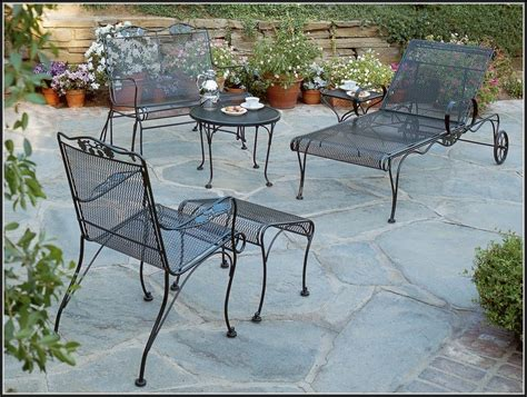 Outdoor Wrought Iron Patio Furniture Antique Wrought Iron Patio Furniture Icamblog