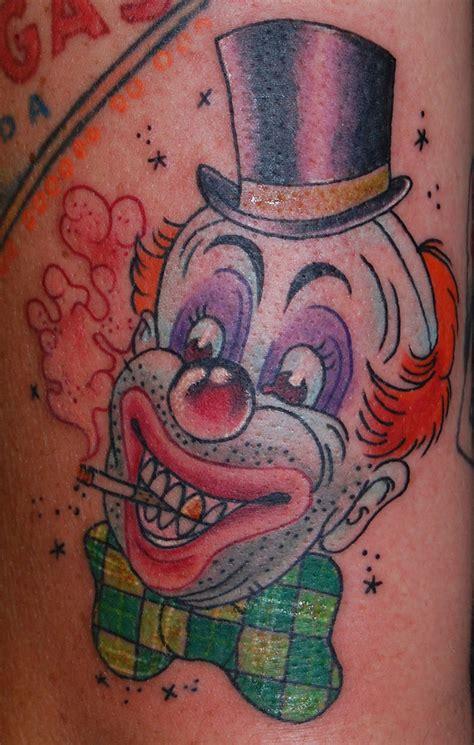 tattoo disasters clown tattoos funny smoking clown tattoo tattoos book 65 000 tattoos