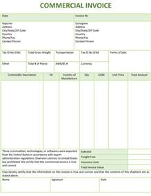 Ups Commercial Invoice Template 5 Commercial Invoice Templates To Stay Professional