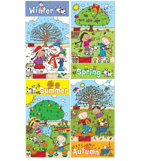 seasons shop four seasons wall display set the childminding shop