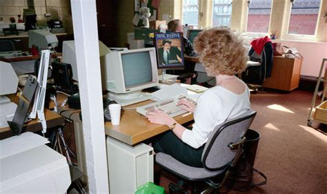 computer biography in english office of the 80s throwback pics show how very different