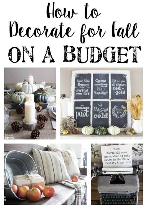decorating your home on a budget the best fall decor on a budget bless er house