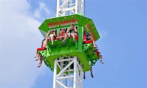 theme park groupon amusement park rides and games cliffs amusement park