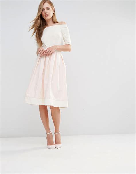 vesper structured midi skirt with bow back ootd