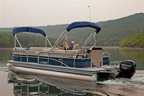 lowe pontoon boat seats 2016 new lowe sf212 sport fish pontoon boat for sale
