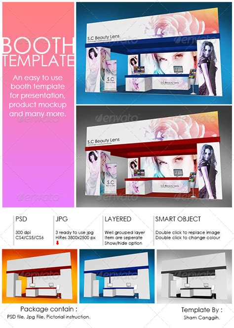 photo booth template psd booth template part 4 graphicriver