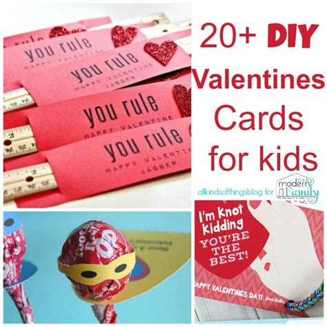 childrens valentines cards s day card ideas for