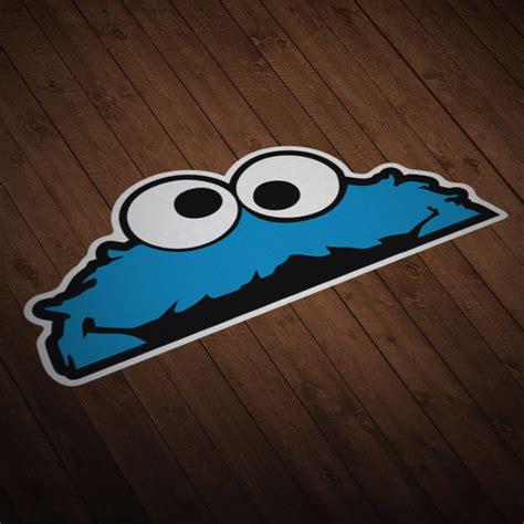 Cookie Monster Aufkleber by Aufkleber F 252 R Autos Motorr 228 Der Und Wohnmobile