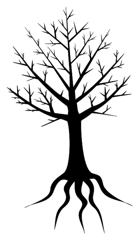 coloring pictures of tree trunks tree trunk coloring page clipart best