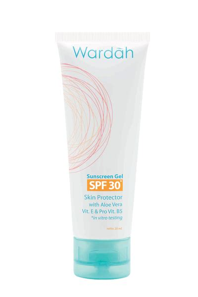 Pelembab Muka Spf 30 beautifull wardah sun screen gel