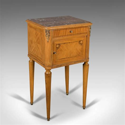 Antique Marble Top Nightstand by Antique Bedside Cabinet Marble Top Nightstand C
