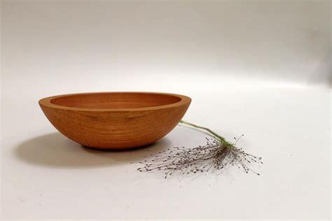 Handmade Wooden Salad Bowls - 7 inch oak bowl bee s finish handmade wooden