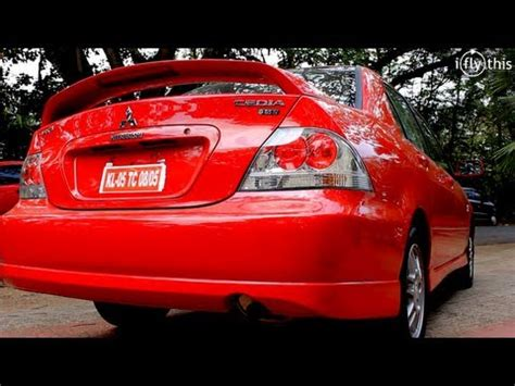 mitsubishi lancer cedia modified mitsubishi cedia 2012 at 8 lakhs walkaround video by