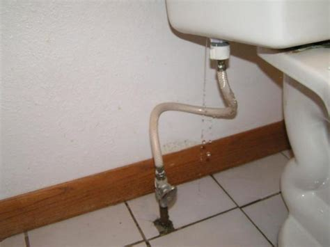 bathroom sink water lines leaking toilet try the 25 toilet tune up