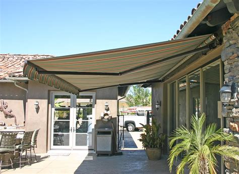 Awning Covers For Decks - elite heavy duty retractable patio awning