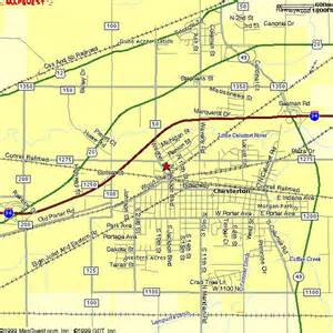 map of northwest cities northwest indiana images