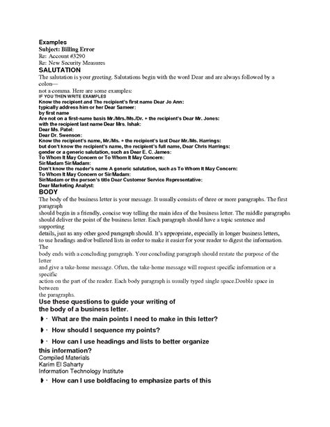 Business Letter Salutation In German business letter greeting sle letters free sle