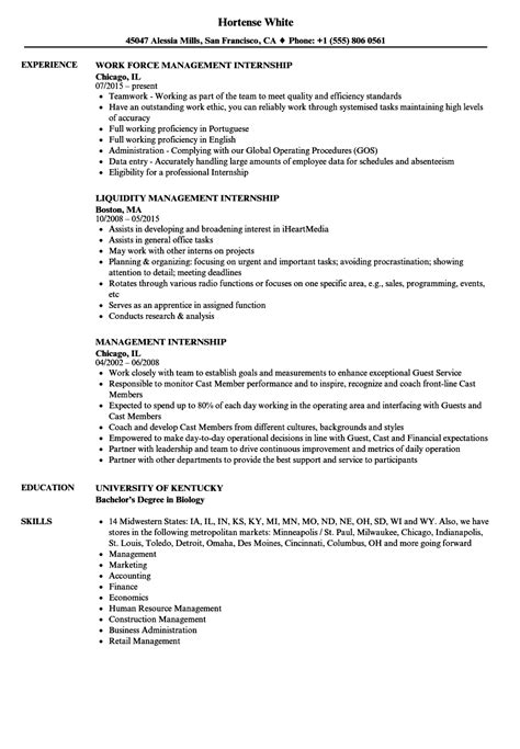Resume Exles For