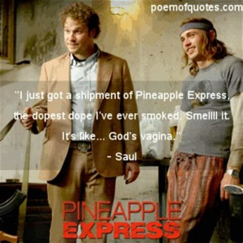 pineapple express saul quotes
