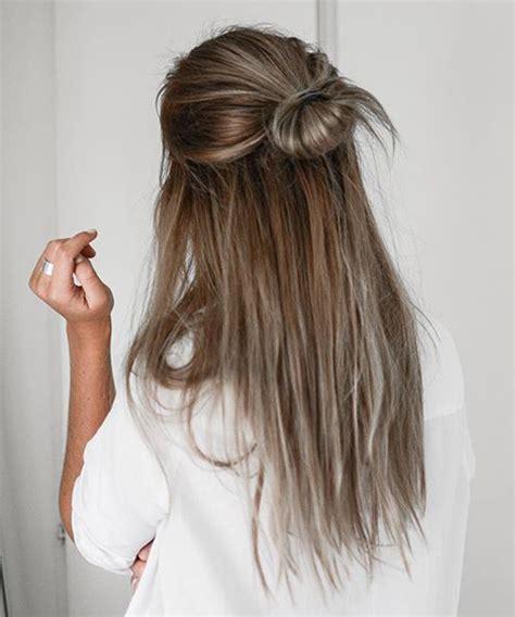 easy hairstyles no product yarım topuz sa 231 modelleri sa 231 larım ben