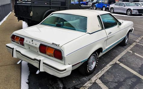 78 mustang coupe one owner ghia 1978 ford mustang ii coupe