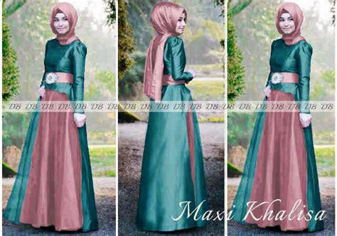 Gamis Muslim Caline Dress maxi khalisa tosca jpg