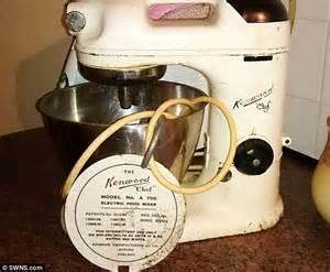 vintage mixer     beaten rolls royce  kitchen appliances