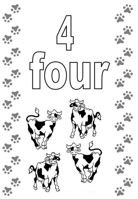 Free Printable Number Coloring Pages For Kids Coloring Pages 4