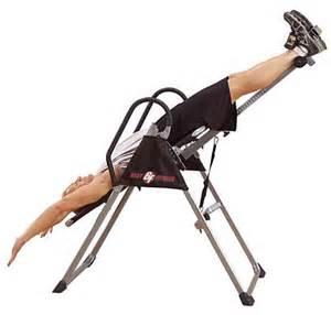 table d inversion poste dos et lombaires best fitness table d inversion