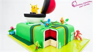 pikachu kuchen how to make a go cake pikachu pokeball cake